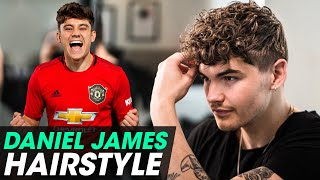 Daniel James Hairstyle - Curly Hair for Men