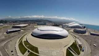 Крушение квадрокоптера в олимпийском парке Сочи 2014(Имеретинская набережная в Сочи, олимпийские объекты., 2014-07-07T20:12:31.000Z)