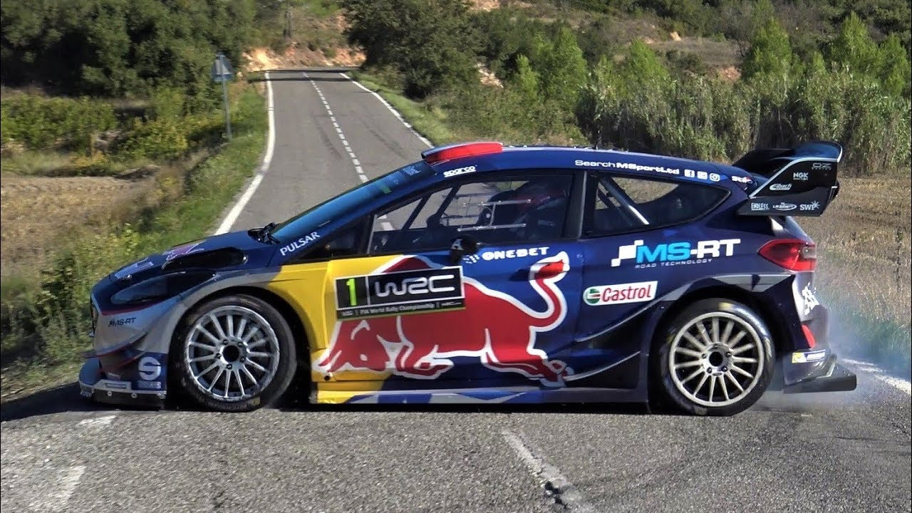 Test Ott Tanak Ford Fiesta Wrc Rallyracc 2017 By Jaume Soler
