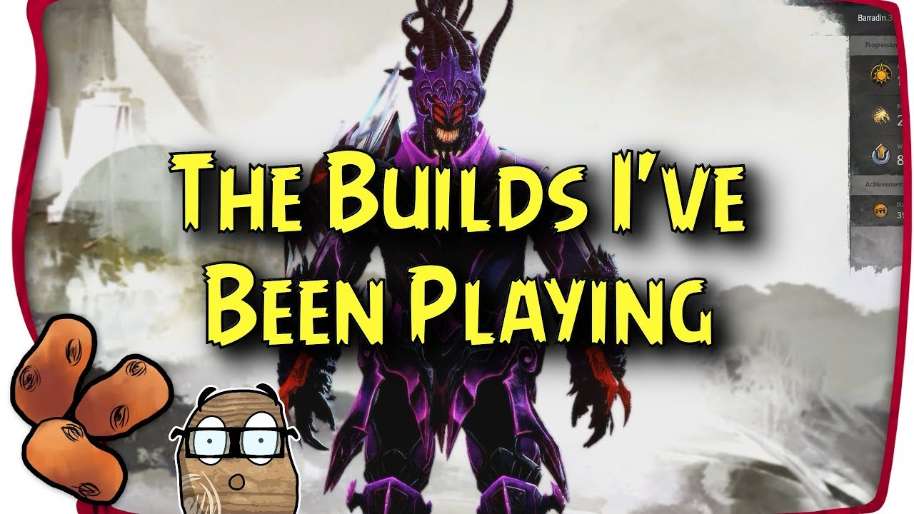 Guild Wars 2 - Builds I've Been Playing Before Path of Fire   Arcane  Support, Condi Rev, Power Mes