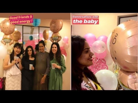 Inside pictures of Sameera Reddy's private baby shower Mp3