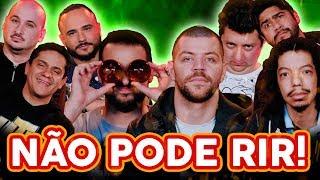 NÃO PODE RIR! com Victor Sarro, Luiz França, João Valio e Santiago Mello