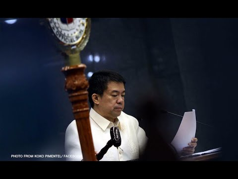 Koko Pimentel is new Senate President