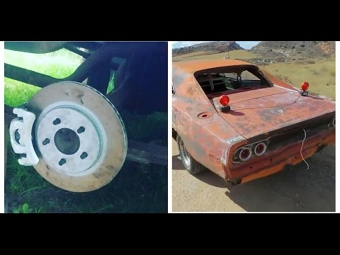 $150 rear disc brake conversion for Dodge Charger 8 3/4 and dana 60