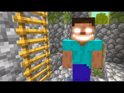 I shouldn't have summoned Herobrine in Minecraft!