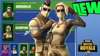 *NEW* ARMADILLO & SCORPION SKINS NEW SHOCKWAVE GERNADE COMING SOON (Fortnite Battle Royale)
