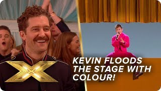 Kevin McHale floods the stage with colour | Live Week 2 | X Factor: Celebrity