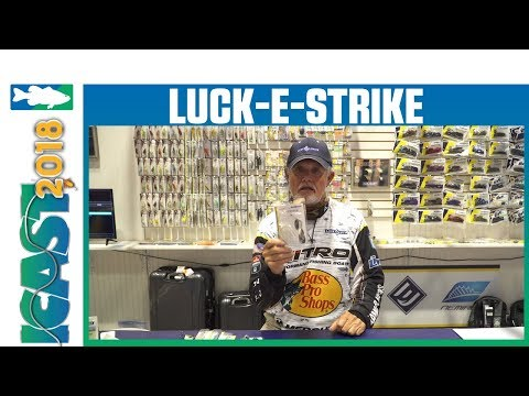 Luck-E-Strike Trickster Spinnerbait With Rick Clunn | ICAST 2018
