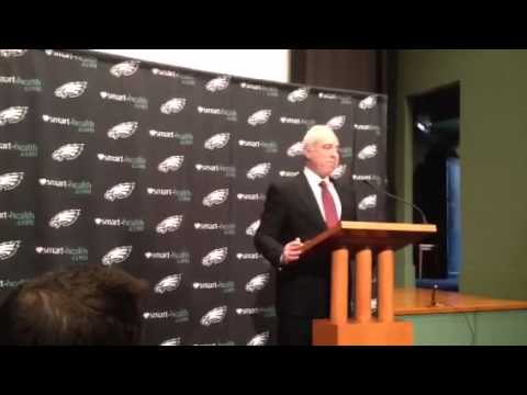 Eagles owner Jeffrey Lurie talks about Andy Reid's firing