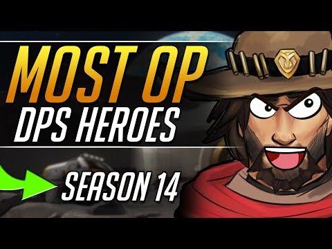 BEST DPS HEROES in Season 14 to get GRANDMASTER - Overwatch Gameplay Guide