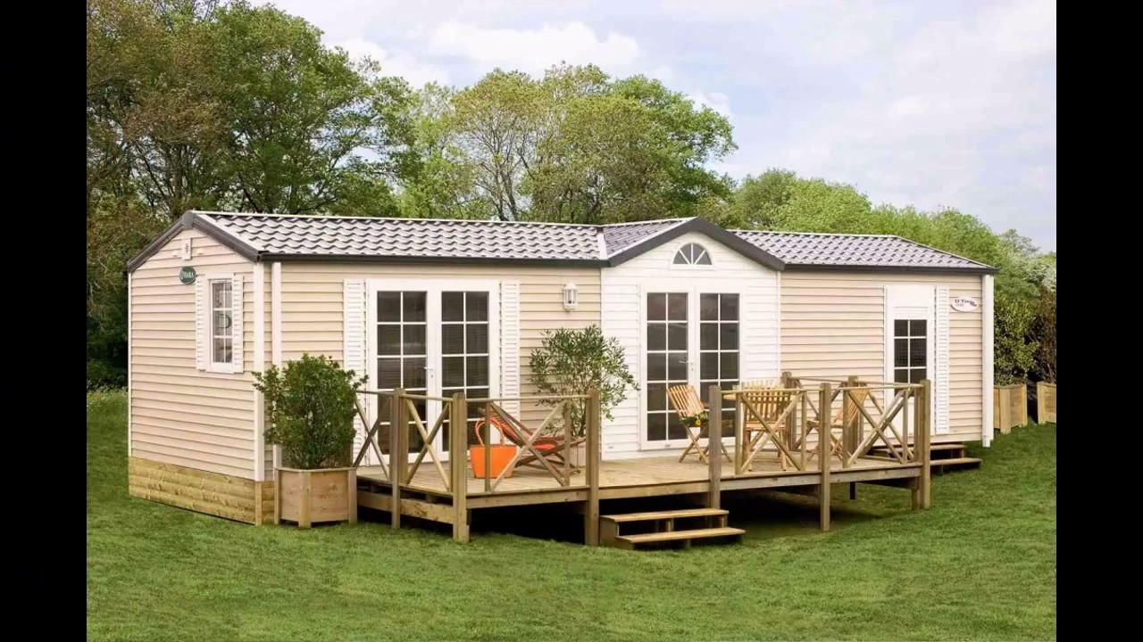 Charming Best Mobile Home Deck Design Ideas