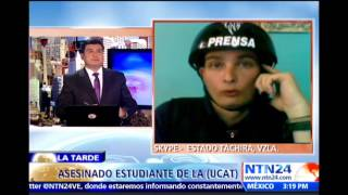 """Asegura que situación en Táchira es """"bastante tensa"""" tras la muerte del menor Kliuberth Roa"""
