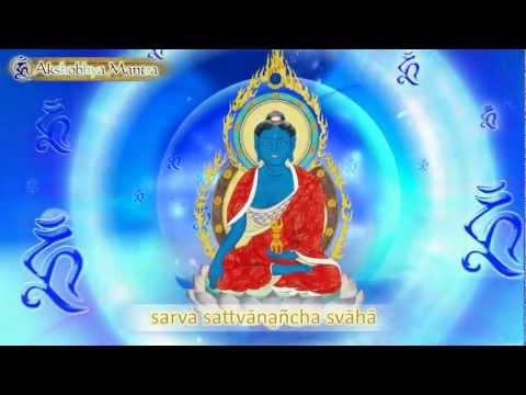HH the 17th KARMAPA chants Akshobhya Mantra - YouTube