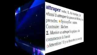 Французский видеословарь. Урок 5. Attraper