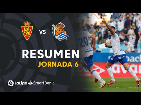 Zaragoza R. Sociedad B Goals And Highlights