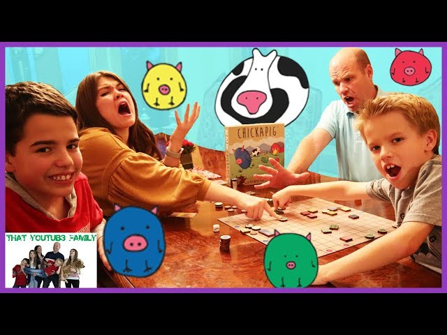 Family Game Night CHiCKAPIG Family Game / That YouTub3 Family I Family Channel