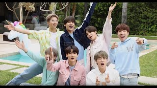 BTS in LA with CanCam 2019♡【backstage & message】
