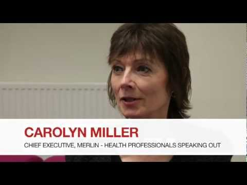 Health care in danger: talk by Carolyn Miller, Chief Executive, Merlin