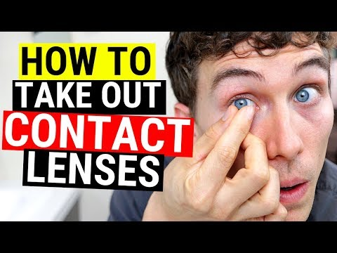 How to Take Out Contact Lenses Easily (Beginners Tutorial)
