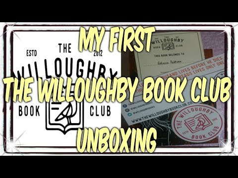 The willoughby book club first unboxing and discount code