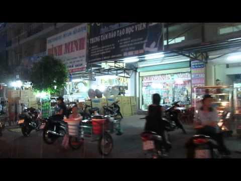 Mỹ Phước 1 về đêm - video thực tế tối 20-3-2013