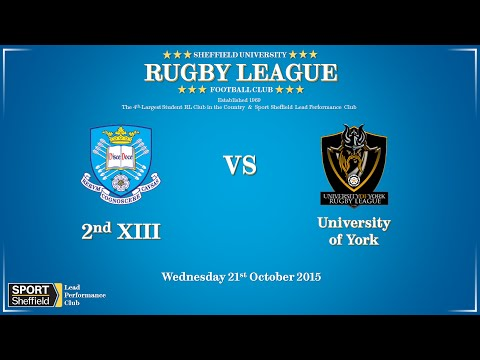 University of Sheffield 2nds vs University of York - Full match