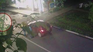 В подмосковных Химках прямо из-под носа владельца угнали автомобиль.
