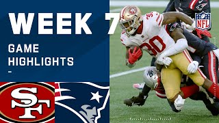 49ers vs. Patriots Week 7 Highlights | NFL 2020