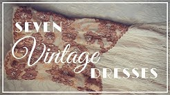 7 Vintage Wedding Dresses - My Collection No.1