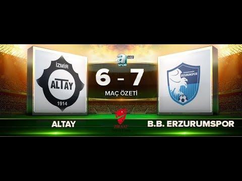 Altay 6-7 B.B Erzurumspor | Maç Özeti HD | A Spor | 20.09.2017