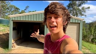 WELCOME TO MY NEW SHED!!!