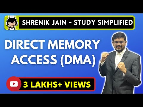 Direct Memory Access - DMA (simplified)