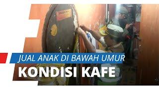 Kondisi Kafe Gang Royal Penjual Anak Di Bawah Umur, Tarif  dari Rp750.000, Simak Video Penggerebekan