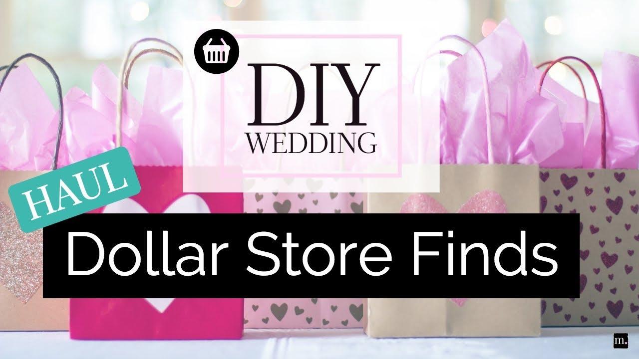 Diy wedding haul 2018 dollar store wedding decor craft supplies diy wedding haul 2018 dollar store wedding decor craft supplies junglespirit Gallery