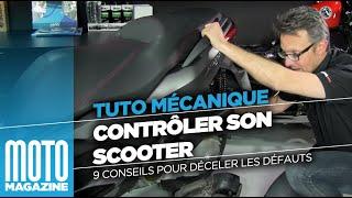 Tuto mécanique moto : contrôler son scooter