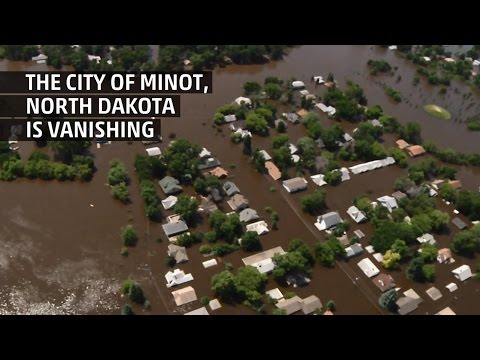 Minot, North Dakota is Disappearing