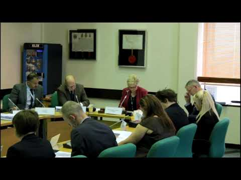 171023 Scrutiny Committee - Chairperson