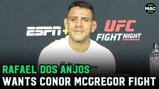 Rafael Dos Anjos wants Conor McGregor fight; Says he's ready if Dustin Poirier fight doesn't happen