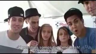 Entrevista con Big Time Rush en Kiss 98.5 (Traducido al Español)