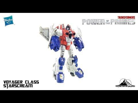 Optibotimus Reviews: Transformers Power of the Prime Voyager Class STARSCREAM