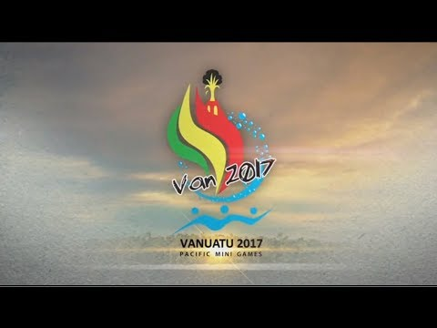 Van2017 Pacific Mini Games Live Stream Day 7 (Monday)