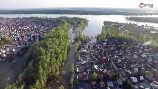 Новосибирск, пос. Красный Яр, наводнение 14.05.2015