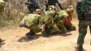 Latihan Keras dan Kejam Pasukan Elit di Indonesia