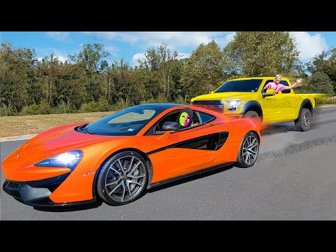 MYSTERY SPY SUPERCAR CHASE for STOLEN $1MILLION DOLLARS!! (Top Secret Hideout Found)