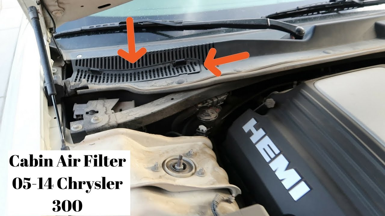 How To Change The Cabin Filter On A 05-14 Chrysler 300