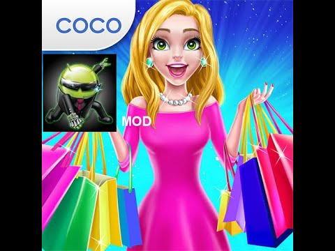 Shopping Mall Girl Dress Up Style Game Unlimited Coins No Ads More Mod Apk Youtube