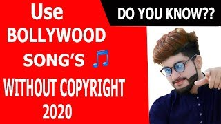 Use Bollywood songs 2020 without Copyright Claim - in YouTube videos | royalty free music for videos