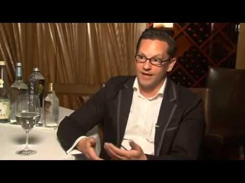 Martin Riese Water Sommelier Wants Bottled Water Treated Like Wine