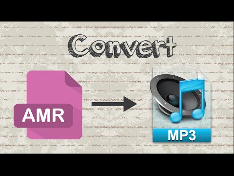How to convert AMR to MP3 format