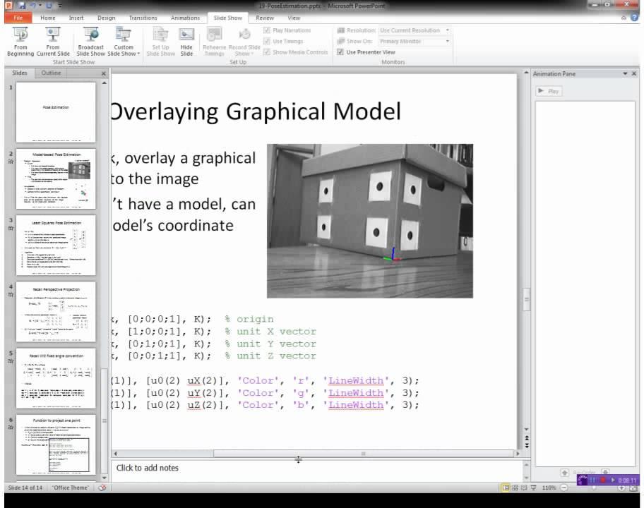 EGGN 512 - Lecture 16-1 Pose Estimation